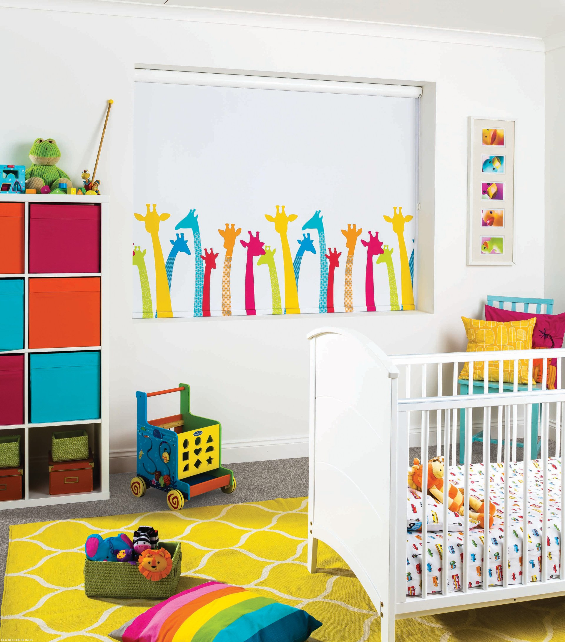 nursery blinds amanda for blinds curtains - Blackout Blinds For Baby Room