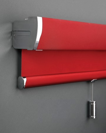 red easyrise roller blind